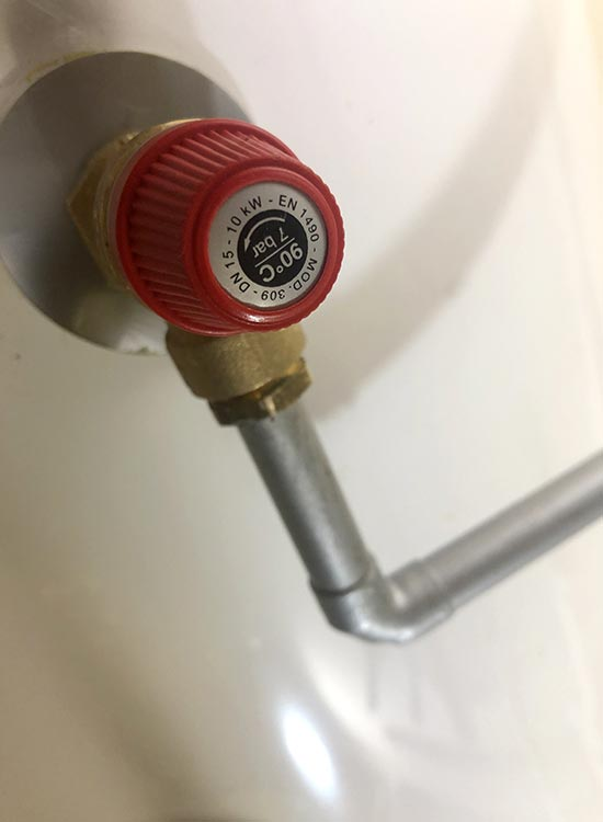 Valve Replacement for Unvented Cylinder