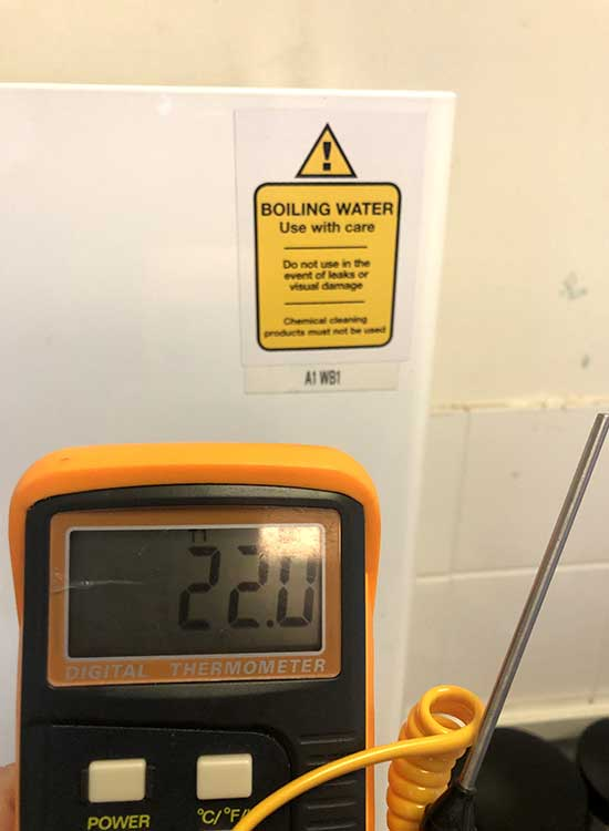 A Water Heater Serviced in Leeds